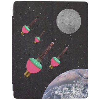 Bubble Lights in Space iPad Cover