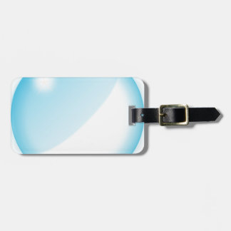 Bubble Luggage Tag