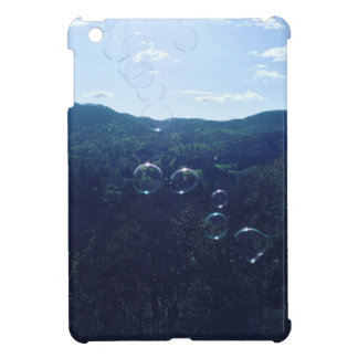 Bubble on the mountain iPad mini cover