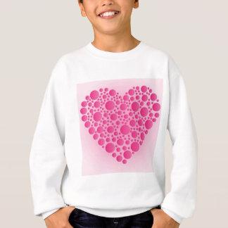 Bubble Pink  Hart Sweatshirt