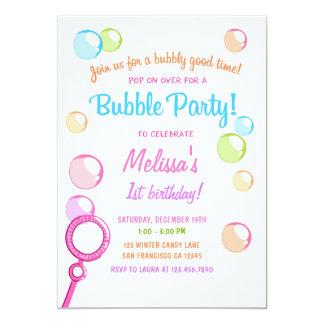 Bubble POP Birthday Party Invitation