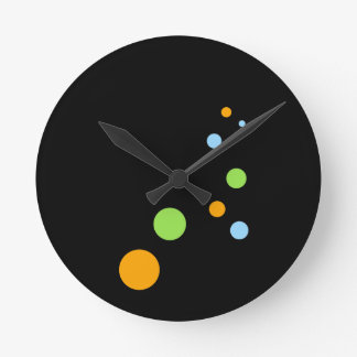 Bubble Round Clock