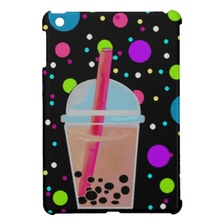 Bubble Tea - Bubble Background iPad Mini Cases
