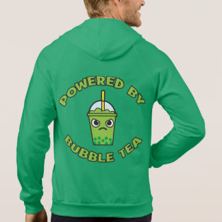 Bubble Tea, Powered By Bubble Tea - Cute Kawaii Hoodie