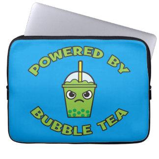 Bubble Tea, Powered By Bubble Tea - Cute Kawaii Laptop Sleeve