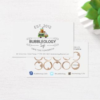 Bubble Tea Shop Loyalty Card