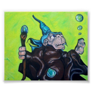 Bubble Wizard Poster