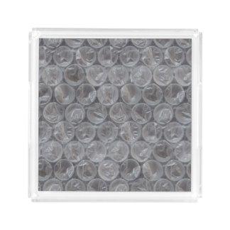 Bubble wrap tray