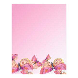 Bubblegum Butterflies Letterhead