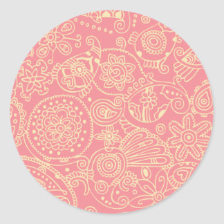 Bubblegum Classic Round Sticker