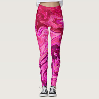 """Bubblegum Ink!"" Leggings"