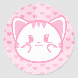 Bubblegum Kitty Sticker