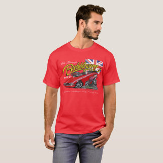 Bubblegum nostalgia funny car T shirt in red