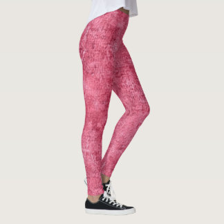 Bubblegum Oil Painting Leggings