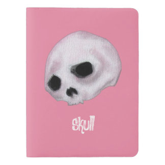 Bubblegum Pink - Skull Extra Large Moleskine Notebook