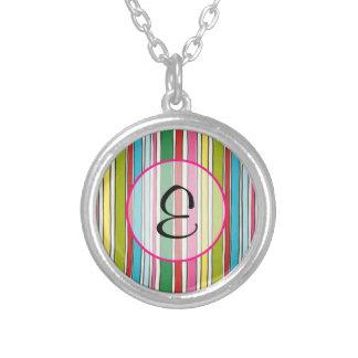 Bubblegum Stripes Necklace