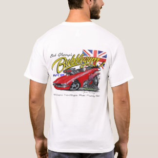 'Bubblegum' T-shirt - front and back design