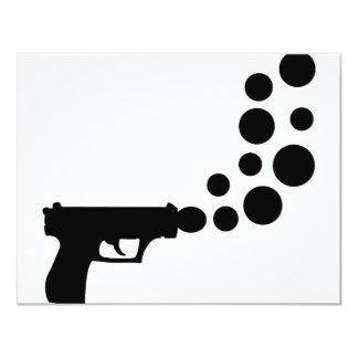 bubblegun icon invitations