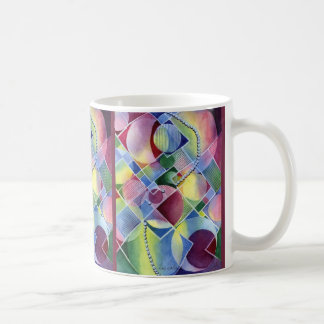 Bubbles and Pearls - Classy Abstract in Watercolor Coffee Mug