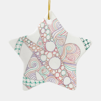 bubbles and swirls christmas ornaments