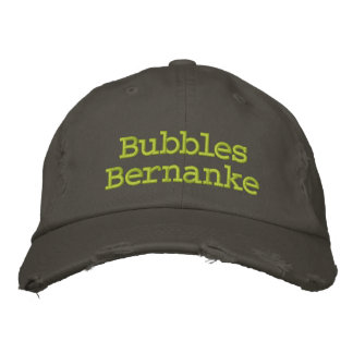 Bubbles Bernanke Embroidered Hat