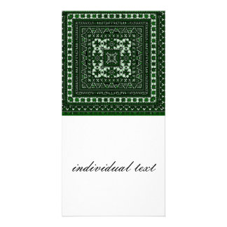 bubbles,border mix,green picture card