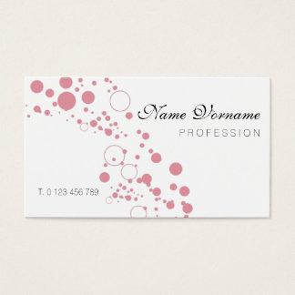 bubbles business card