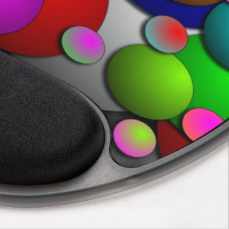 Bubbles by Kenneth Yoncich Gel Mouse Pad