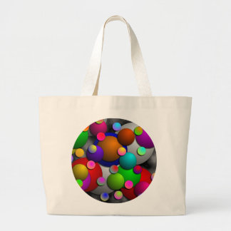 Bubbles by Kenneth Yoncich Large Tote Bag