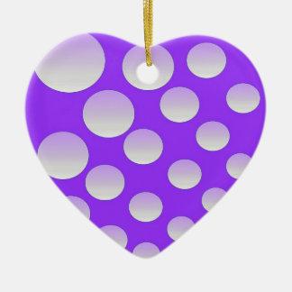 Bubbles Ceramic Ornament