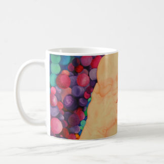 Bubbles coffee mug extra large print