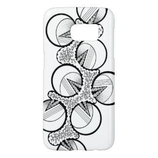 """Bubbles"" design on Samsung Galaxy S7 Case"