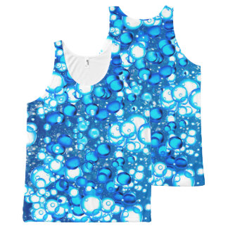 Bubbles image for All-Over Printed Unisex Tank