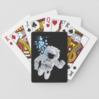 Bubbles In Space Playing Card Deck