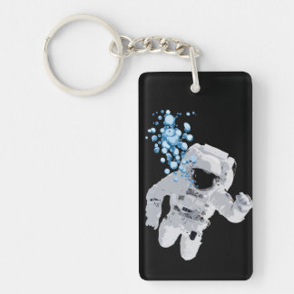 Bubbles In Space - Space Bubbles KEYCHAIN