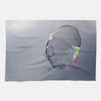 Bubbles in the sky towels