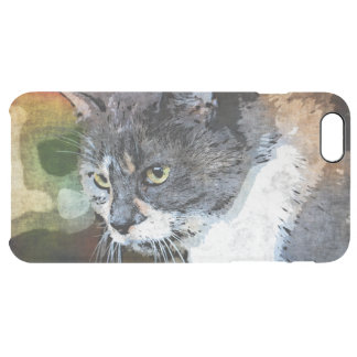 BUBBLES INTENTLY FOCUSED CLEAR iPhone 6 PLUS CASE