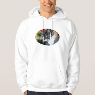 BUBBLES INTENTLY FOCUSED HOODIE