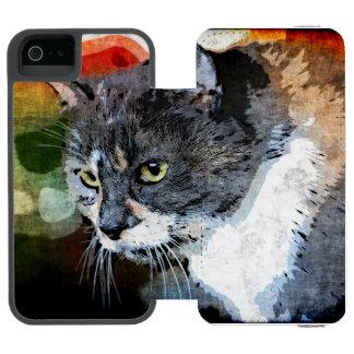 BUBBLES INTENTLY FOCUSED INCIPIO WATSON™ iPhone 5 WALLET CASE