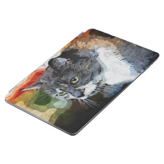 BUBBLES INTENTLY FOCUSED iPad AIR COVER