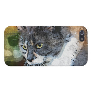 BUBBLES INTENTLY FOCUSED iPhone 5/5S CASE