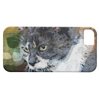 BUBBLES INTENTLY FOCUSED iPhone 5 CASES