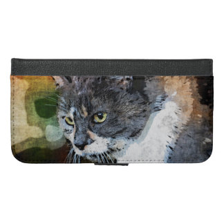 BUBBLES INTENTLY FOCUSED iPhone 6/6S PLUS WALLET CASE