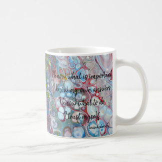 Bubbles Knowledge mug
