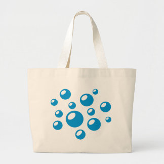 Bubbles Large Tote Bag