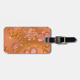bubbles luggage tag