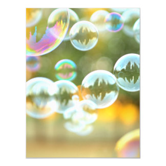 Bubbles magnetic card