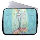 Bubbles Mermaid Laptop Sleeve Protector