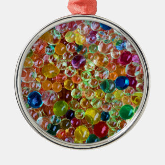 bubbles metal ornament