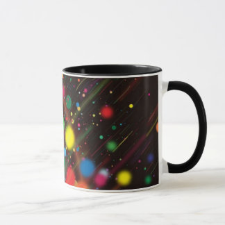 Bubbles of colors - mug